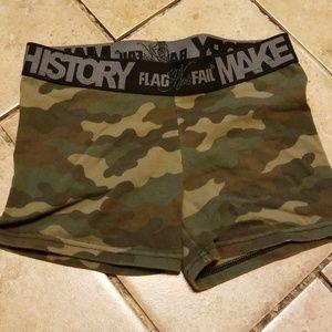 Pants - Flag Nor Fail Camo Shorts